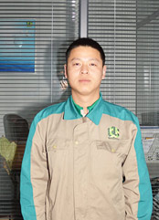 绿方安装团队-李鹏